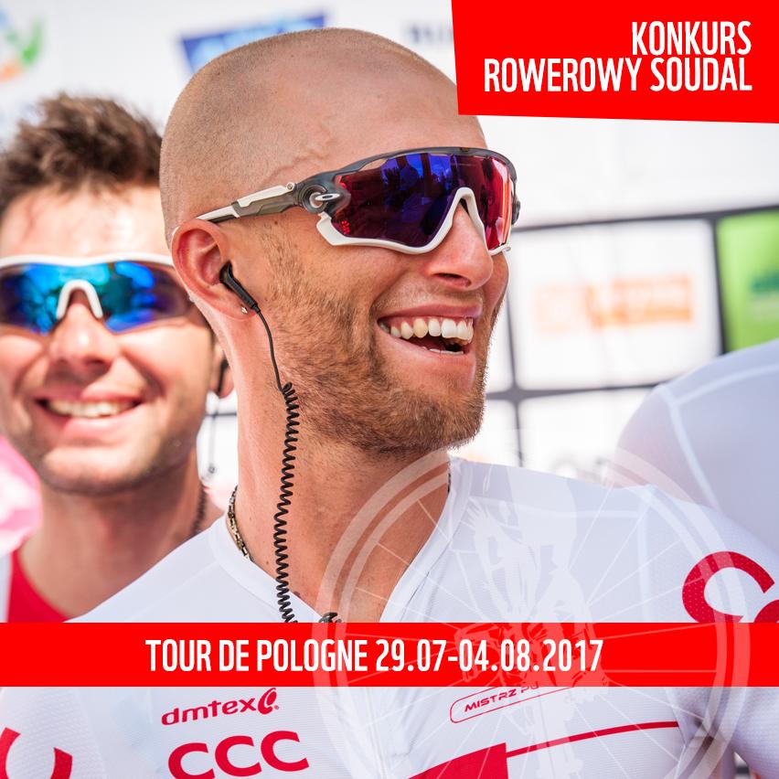 Konkurs rowerowy Soudal z okazji 74. edycji Tour de Pologne